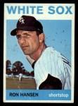 1964 Topps #384  Ron Hansen  Front Thumbnail