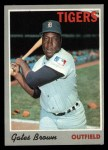 1970 Topps #98  Gates Brown  Front Thumbnail