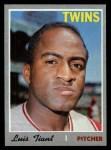 1970 Topps #231  Luis Tiant  Front Thumbnail