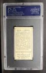 1911 T205 #36  Frank J. Corridon  Back Thumbnail