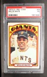 1972 O-Pee-Chee #49  Willie Mays  Front Thumbnail