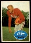 1960 Topps #105  John David Crow  Front Thumbnail
