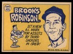 1970 Topps #455   -  Brooks Robinson All-Star Back Thumbnail