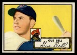 1952 Topps #170 CRM Gus Bell  Front Thumbnail