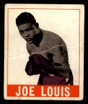1948 Leaf #48  Joe Louis  Front Thumbnail