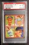 1935 Goudey  Minter Hayes / Ted Lyons / Mule Haas / Zeke Bonura  Front Thumbnail