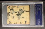 1935 Goudey  Bill Terry / Travis Jackson / Gus Mancuso / Hal Schumacher  Back Thumbnail