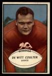 1953 Bowman #64  Tex Coulter  Front Thumbnail
