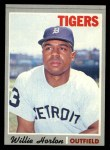 1970 Topps #520  Willie Horton  Front Thumbnail