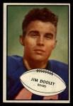 1953 Bowman #80  Jim Dooley  Front Thumbnail