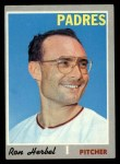 1970 Topps #526  Ron Herbel  Front Thumbnail