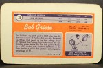 1970 Topps Super #35  Bob Griese  Back Thumbnail