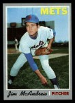 1970 Topps #246  Jim McAndrew  Front Thumbnail