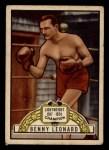1951 Topps Ringside #39  Benny Leonard  Front Thumbnail