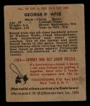 1948 Bowman #95  George McAfee  Back Thumbnail