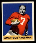 1948 Leaf #25 BN Bud Angsman  Front Thumbnail
