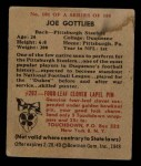 1948 Bowman #101  Joe Gottlieb  Back Thumbnail