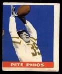 1948 Leaf #16 YEL Pete Pihos  Front Thumbnail