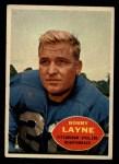 1960 Topps #93  Bobby Layne  Front Thumbnail