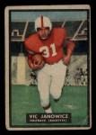 1951 Topps #10  Vic Janowicz  Front Thumbnail