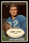 1953 Bowman #21  Bobby Layne  Front Thumbnail