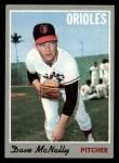 1970 Topps #20  Dave McNally  Front Thumbnail