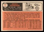 1966 Topps #396  Jerry Stephenson  Back Thumbnail
