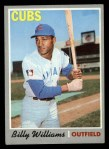 1970 Topps #170  Billy Williams  Front Thumbnail