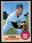 1968 Topps #26  Darrell Brandon  Front Thumbnail