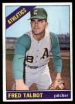 1966 Topps #403  Fred Talbot  Front Thumbnail