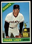 1966 Topps #78  Frank Linzy  Front Thumbnail