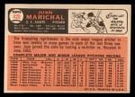 1966 Topps #420  Juan Marichal  Back Thumbnail