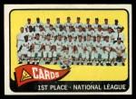 1965 Topps #57   Cardinals Team Front Thumbnail