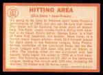 1964 Topps #162   -  Dick Sisler / Vada Pinson Hitting Area Back Thumbnail