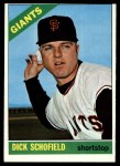 1966 Topps #474  Dick Schofield  Front Thumbnail