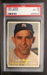 1957 Topps #2  Yogi Berra  Front Thumbnail