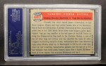1957 Topps #407   -  Mickey Mantle / Yogi Berra Yankees' Power Hitters Back Thumbnail