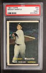 1957 Topps #95  Mickey Mantle  Front Thumbnail