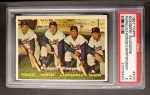 1957 Topps #400   -  Carl Furillo / Gil Hodges / Roy  Campanella / Duke Snider Dodgers' Sluggers Front Thumbnail