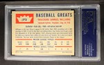 1960 Fleer #72  Ted Williams  Back Thumbnail
