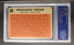 1962 Topps #18   -  Willie Mays / Mickey Mantle Managers' Dream Back Thumbnail