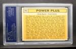 1963 Topps #242   -  Ernie Banks / Hank Aaron Power Plus  Back Thumbnail
