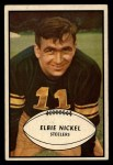 1953 Bowman #18  Elbert Nickel  Front Thumbnail