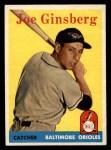 1958 Topps #67  Joe Ginsberg  Front Thumbnail