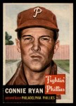 1953 Topps #102  Connie Ryan  Front Thumbnail