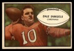 1953 Bowman #33  Dale Samuels  Front Thumbnail