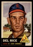 1953 Topps #68  Del Rice  Front Thumbnail