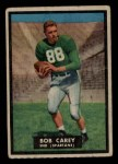 1951 Topps Magic #75  Bob Carey  Front Thumbnail