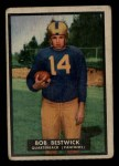 1951 Topps Magic #28  Bob Bestwick  Front Thumbnail