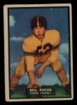 1951 Topps #38  Bill Fuchs  Front Thumbnail